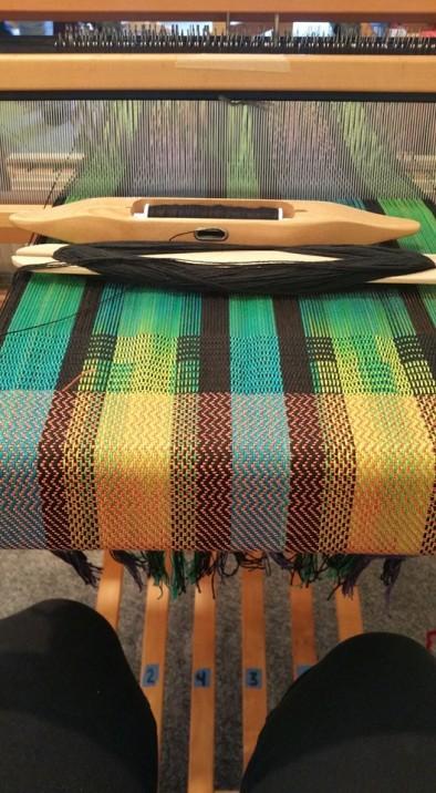 Pam's weaving